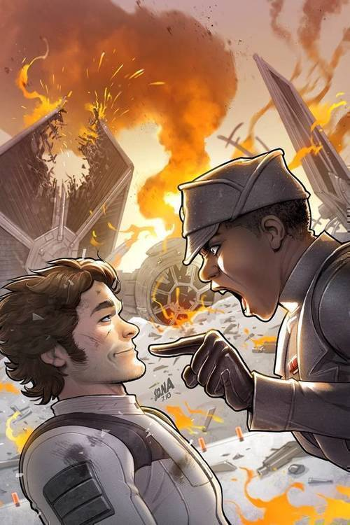 Marvel comics star wars han solo imperial cadet 20180830