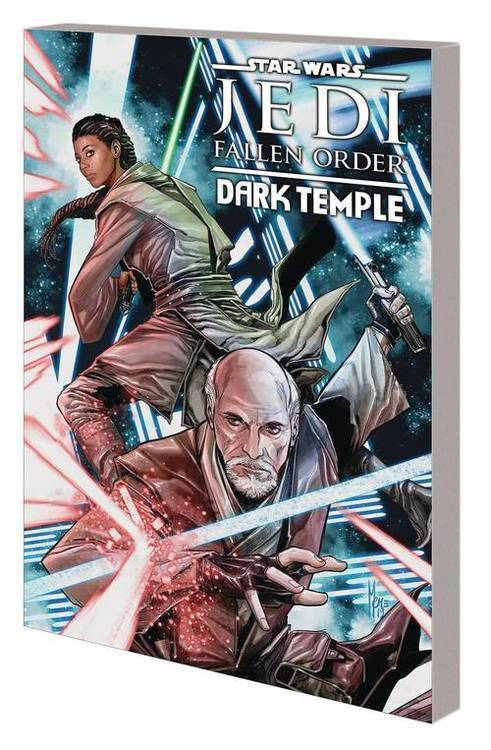 Marvel comics star wars jedi fallen order dark temple tpb 20200128