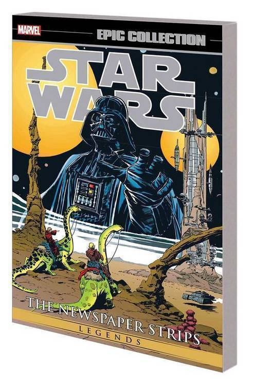 Marvel comics star wars legends epic collection newspaper strips tpb vol 02 20190327