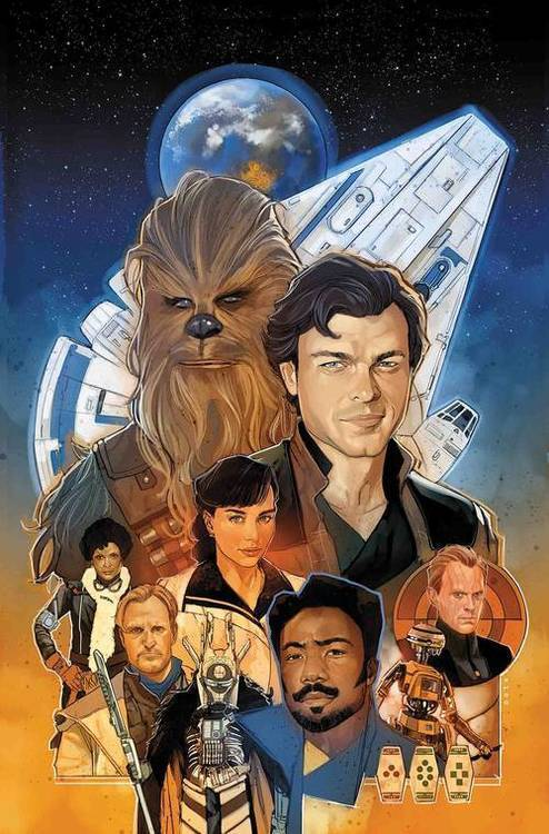 Marvel comics star wars solo adaptation 20180801