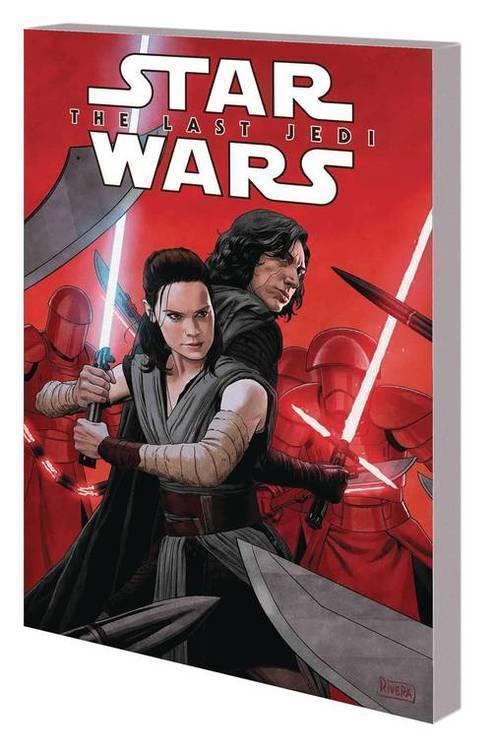 Marvel comics star wars tpb last jedi adaptation 20180701