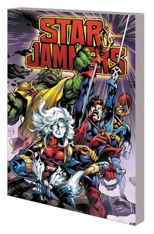 Marvel comics starjammers tpb 20190327