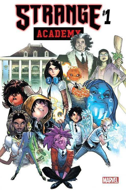 Marvel comics strange academy 20191227