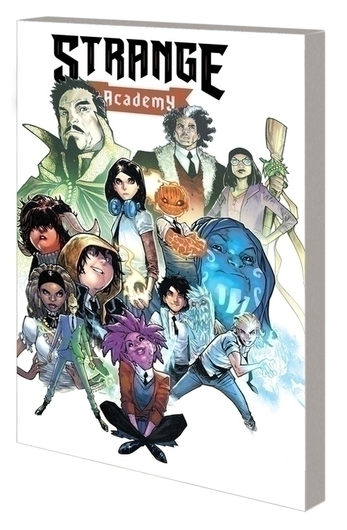 Marvel comics strange academy gn tp first class 20200924