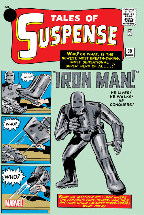 Tales Of Suspense #39 Facsimile Edition