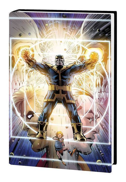 Thanos Original Graphic Novel Hardcover Infinity Ending