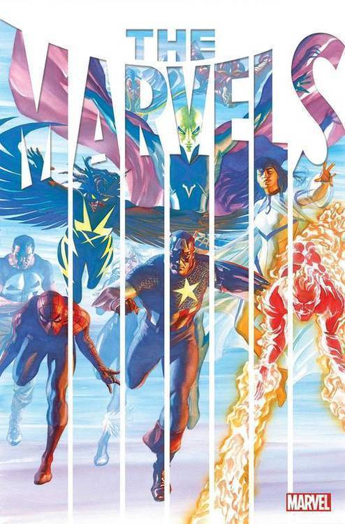 Marvel comics the marvels 20200225