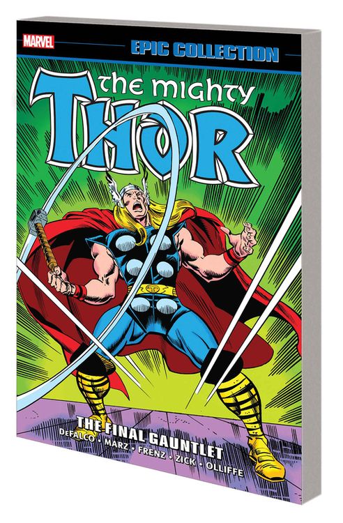 Thor Epic Collection TPB Final Gauntlet