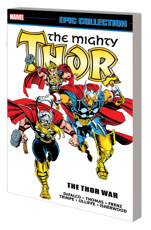 Marvel comics thor epic collection tpb thor war 20200826