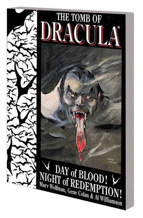 Marvel comics tomb of dracula tpb day of blood night of redemption 20190327