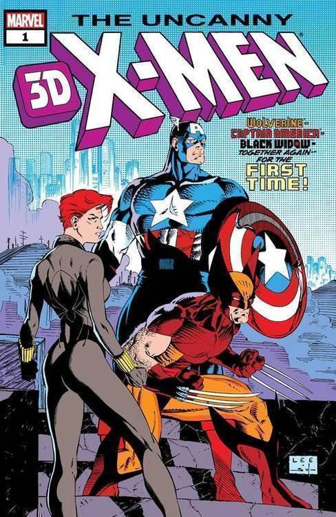 Uncanny X-Men #268 3D