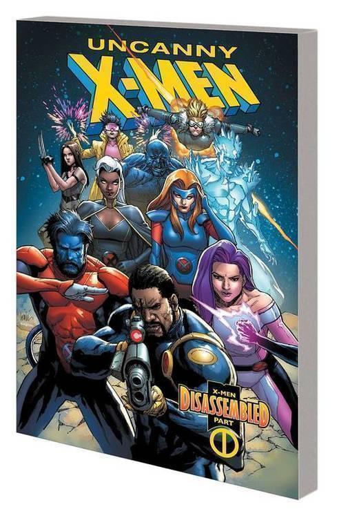 Uncanny X-Men TPB Vol 01 X-Men Disassembled