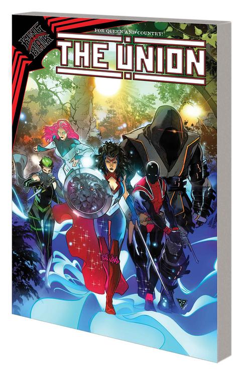 Marvel comics union britannia project tpb 20210325
