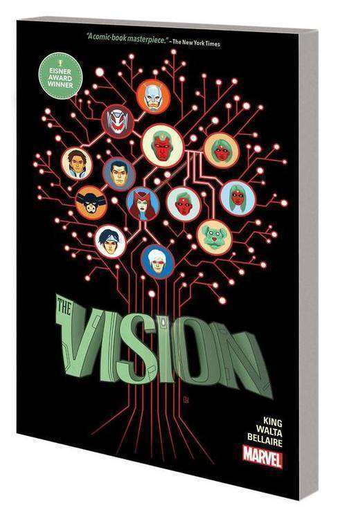 Marvel comics vision complete collection tpb 20190730