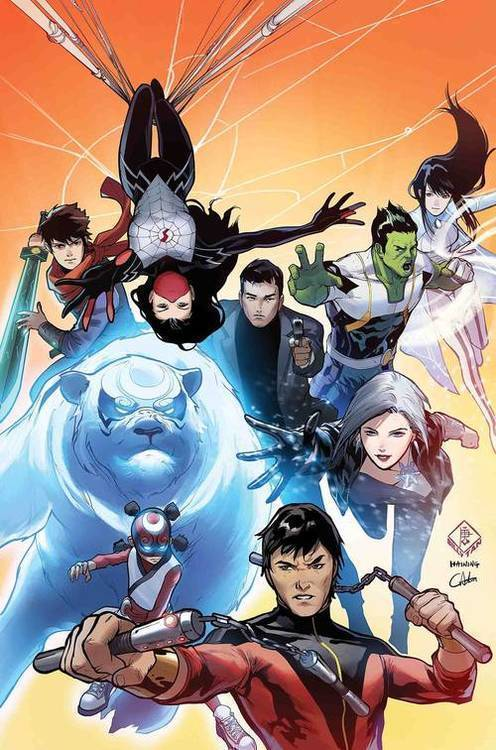 Marvel comics war of realms new agents of atlas 20190225