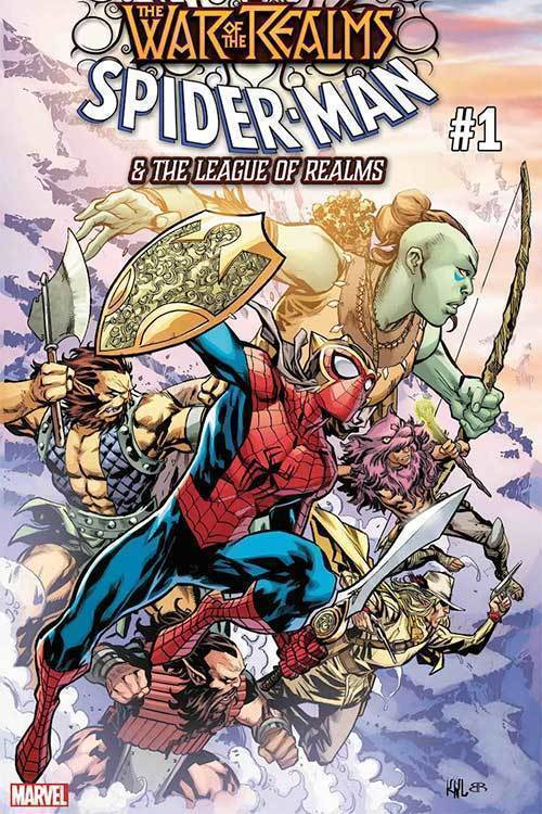 War Of Realms Spider-Man & League Of Realms