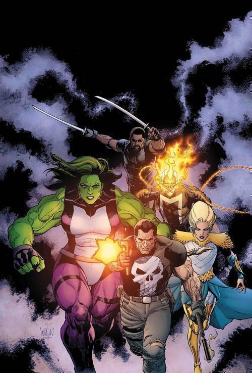 Marvel comics war of realms strikeforce dark elf realm 20190225