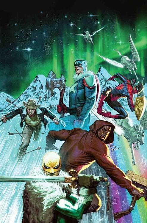 Marvel comics war of realms strikeforce land of giants 20190225