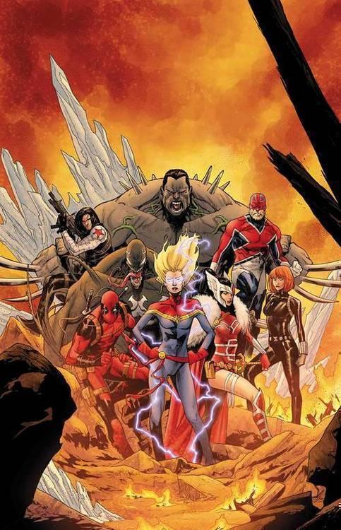 Marvel comics war of realms strikeforce war avengers 20190225