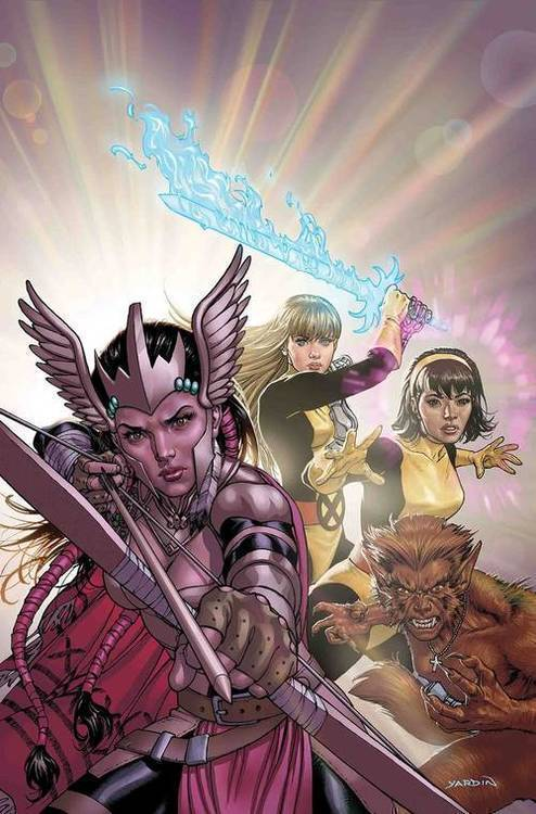 Marvel comics war of realms uncanny x men 20190129