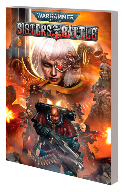 Warhammer 40000 Sisters Of Battle TPB (Mature)
