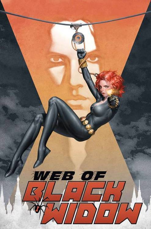 Marvel comics web of black widow 20190626