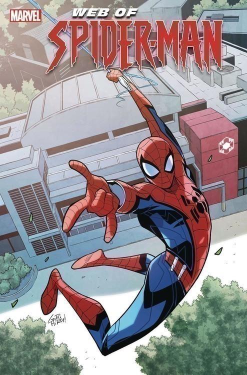 Marvel comics web of spider man 20200328