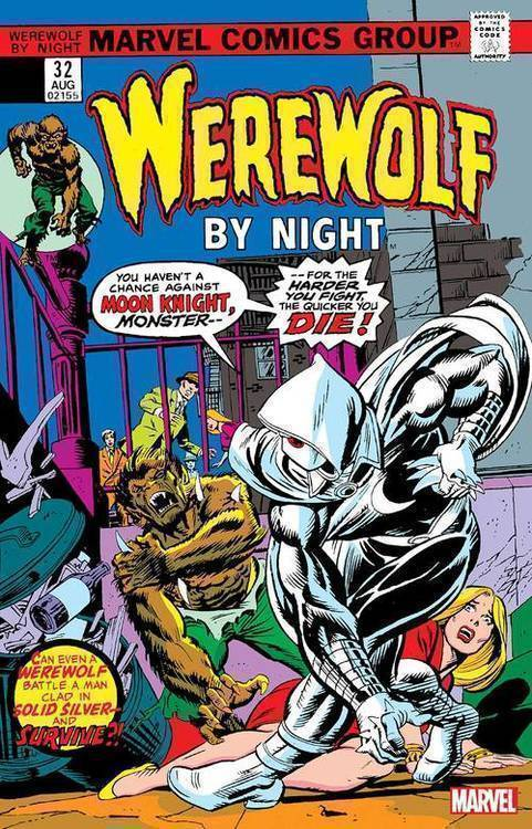 Marvel comics werewolf by night 32 facsimile edition 20200225