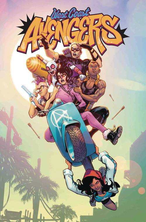 Marvel comics west coast avengers 20180530