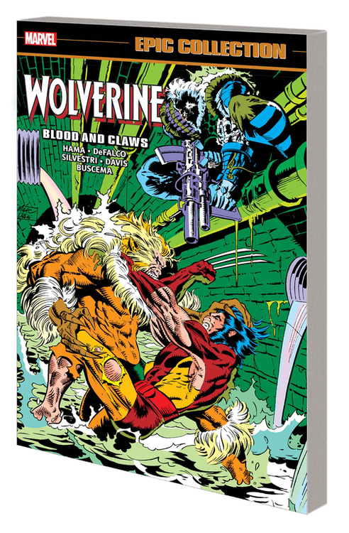 Marvel comics wolverine epic collection blood and claws tpb 20210325
