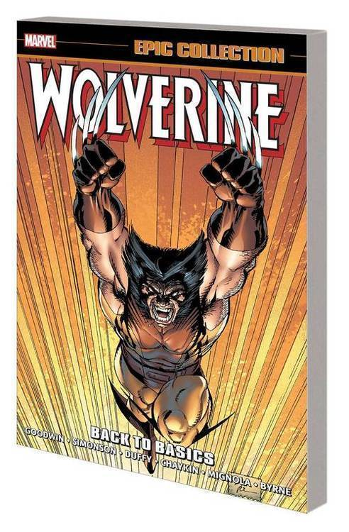 Marvel comics wolverine epic collection tpb back to basics 20181130
