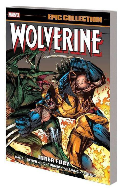Marvel comics wolverine epic collection tpb inner fury 20191127