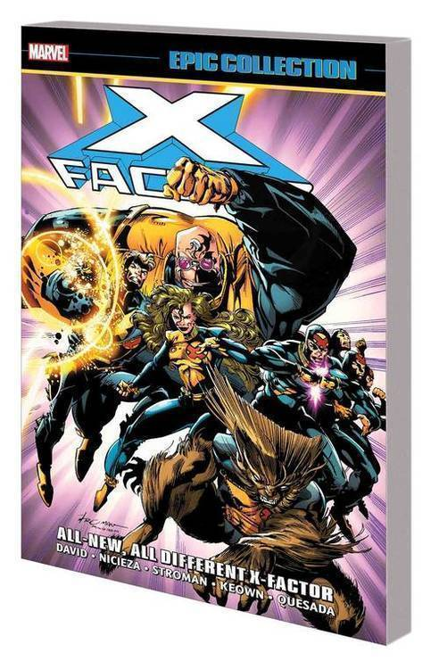 Marvel comics x factor epic collection tpb all new all different x factor 20180830