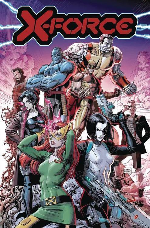 X-Force By Benjamin Percy TPB Volume 01