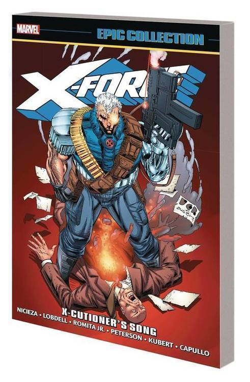 Marvel comics x force epic collection tpb x cutioners song 20190828