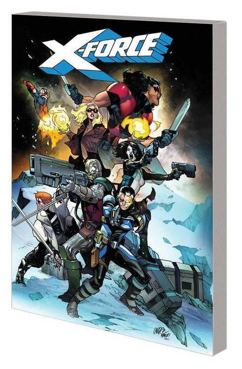 Marvel comics x force tpb volume 01 sins of past 20190225