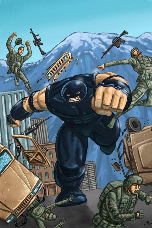 Marvel comics x men black juggernaut