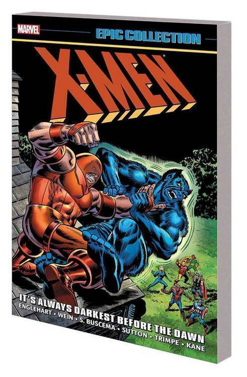 Marvel comics x men epic collection tpb always darkest before dawn 20190327