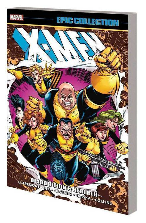 Marvel comics x men epic collection tpb dissolution and rebirth 20190424