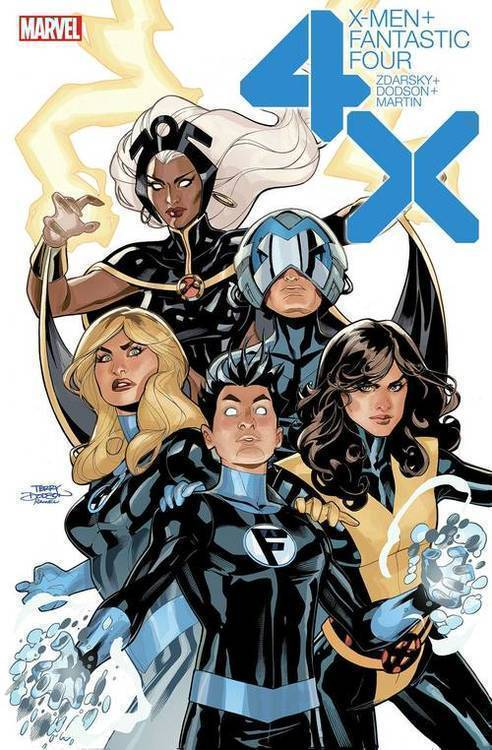 Marvel comics x men fantastic four 20191127