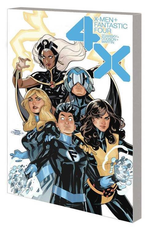 Marvel comics x men fantastic four tpb 4x 20200225
