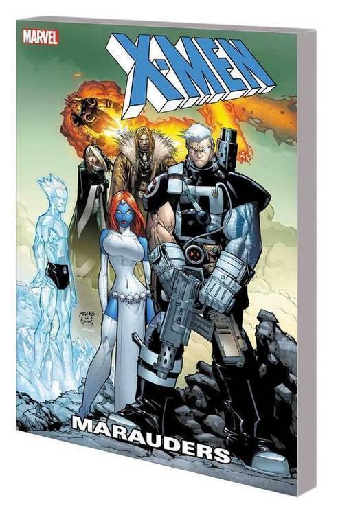 Marvel comics x men marauders tpb 20180830