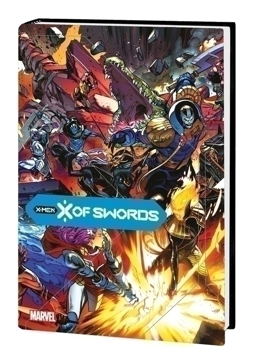 X Of Swords Hardcover