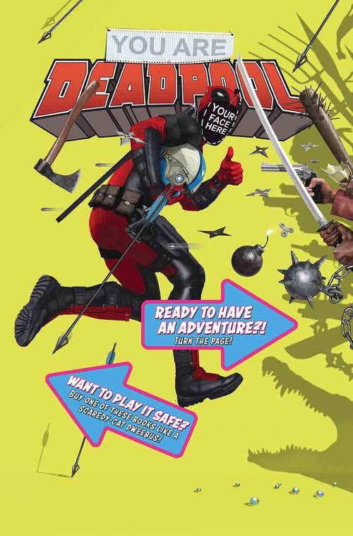 Marvel comics you are deadpool 20180302