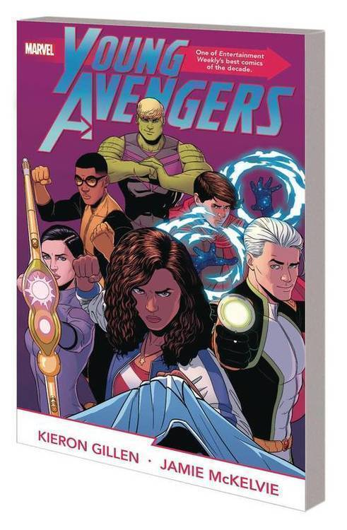 Marvel comics young avengers by gillen mckelvie complete collection tpb 20200128