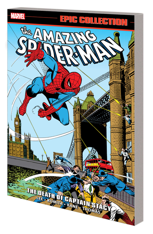 Marvel prh amazing spider man epic coll tpb death captain stacy 20210630