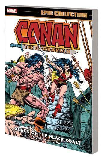 Marvel prh conan the barbarian epic collection original marvel years tpb black coast 20210728