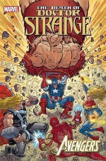 Marvel prh death of doctor strange avengers 1 20210728