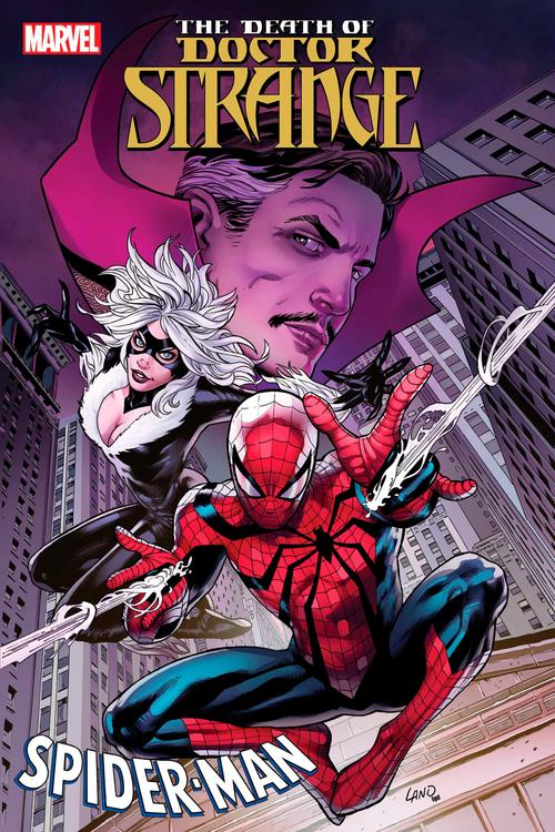 Death Of Doctor Strange Spider Man #1