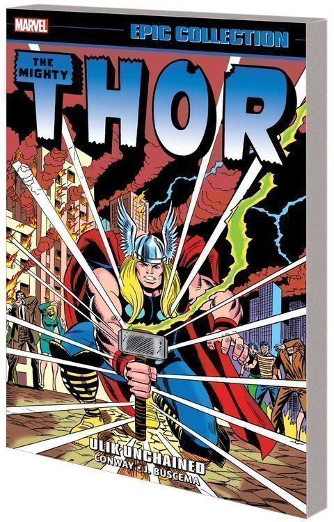 Marvel prh thor epic collection tpb ulik unchained 20210829
